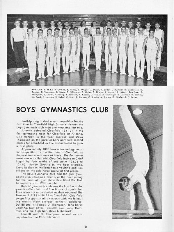 Boys' Gymnastic